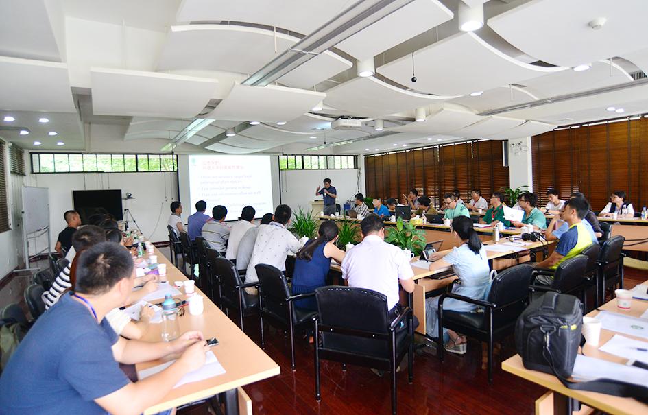 中国植物园联盟本土植物全覆盖保护计划工作方法培训与交流会在版纳园召开