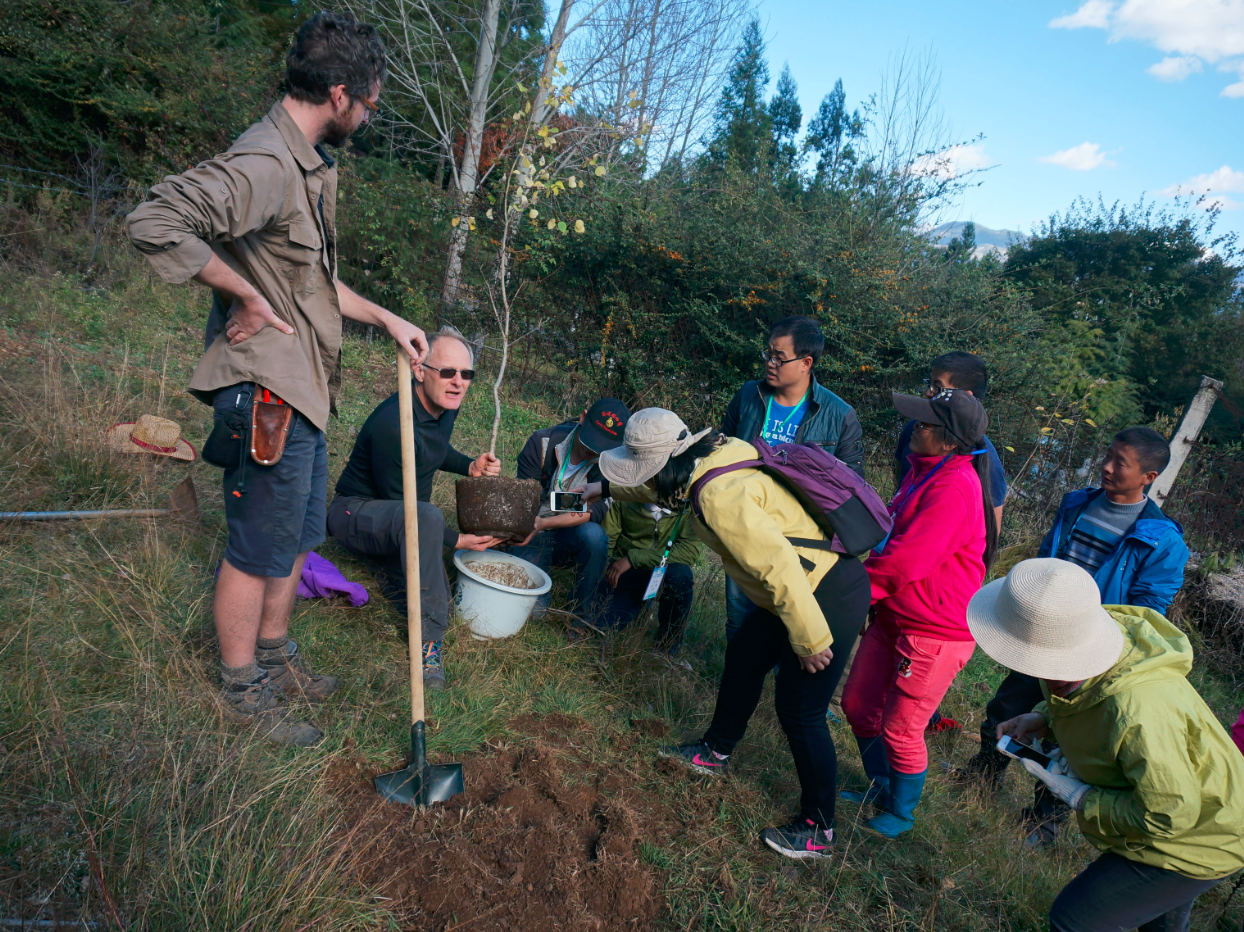2016年园林园艺与景观建设培训班顺利结课